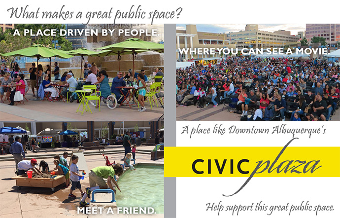 Be A Friend of Civic Plaza!